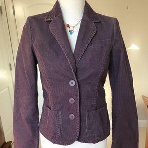 Vintage Violet Corduroy Blazer